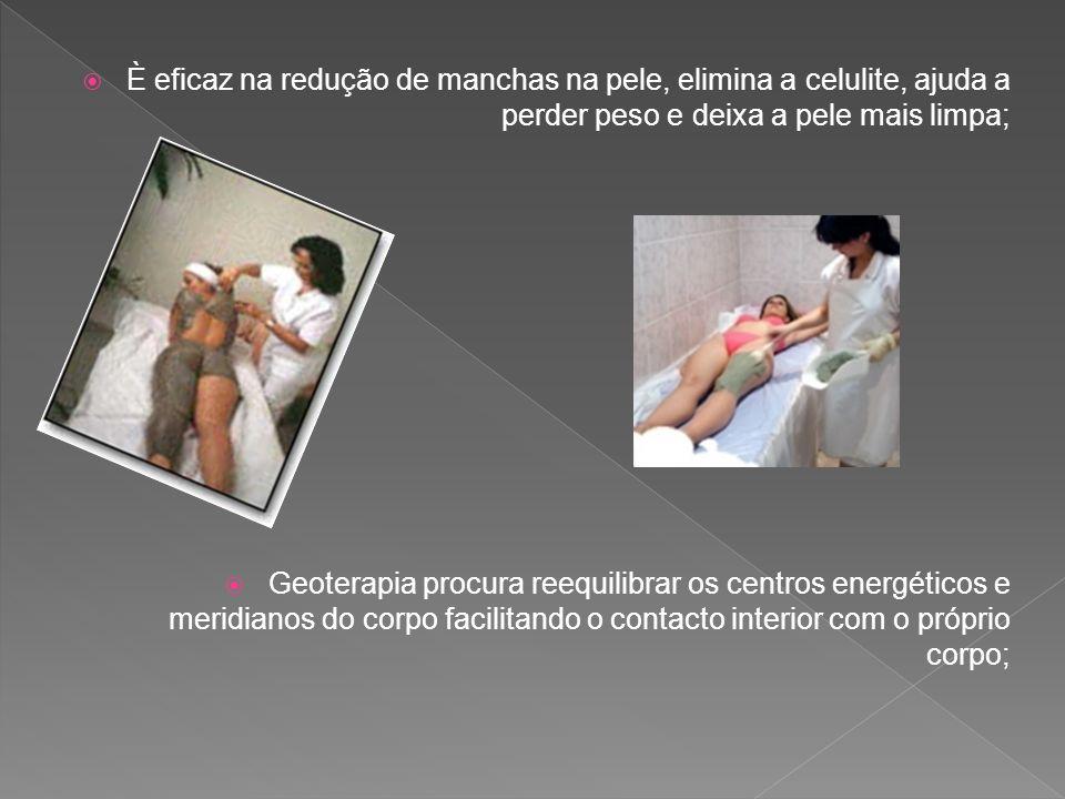 È eficaz na redução de manchas na pele, elimina a celulite, ajuda a perder peso e deixa a pele mais limpa;