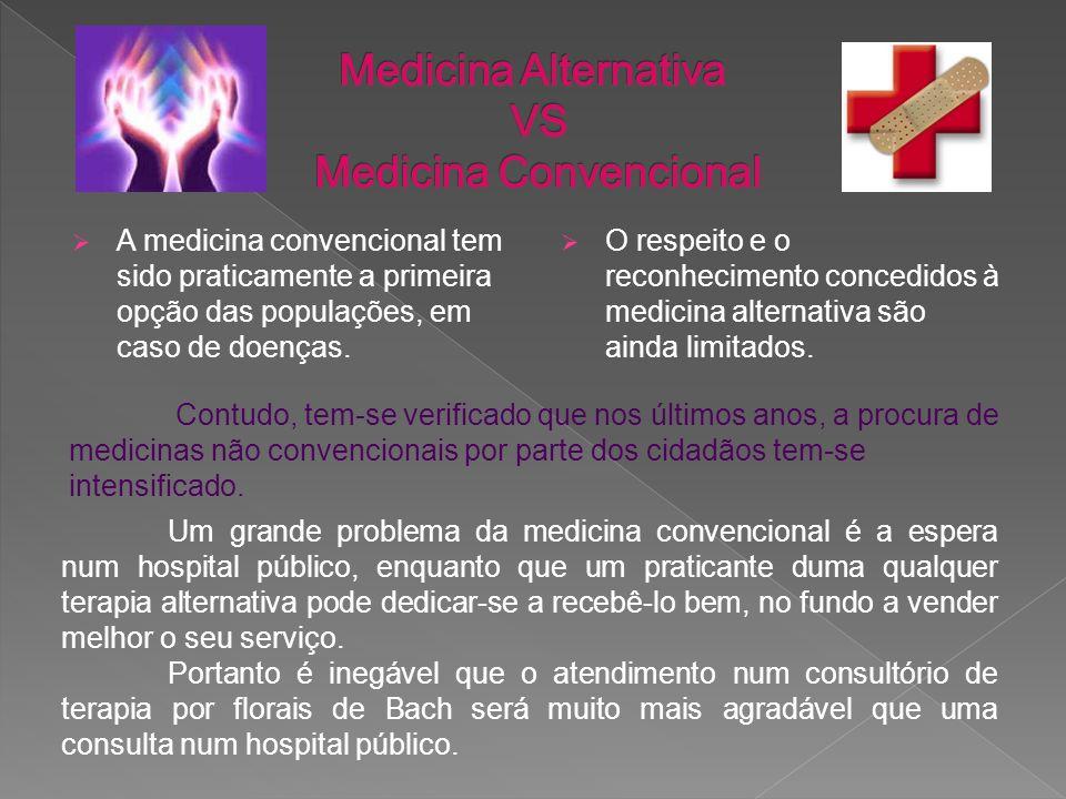Medicina Alternativa VS Medicina Convencional