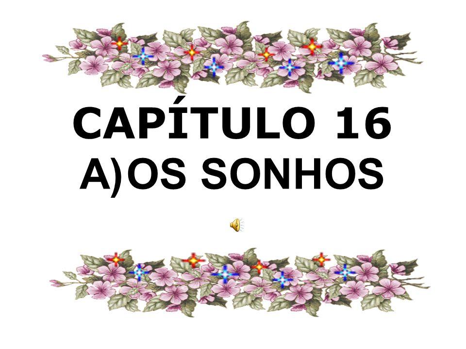 CAPÍTULO 16 A) OS SONHOS