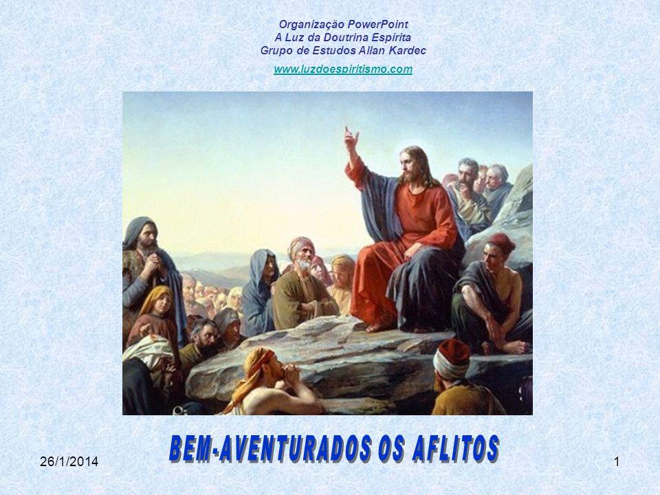 BEM-AVENTURADOS OS AFLITOS