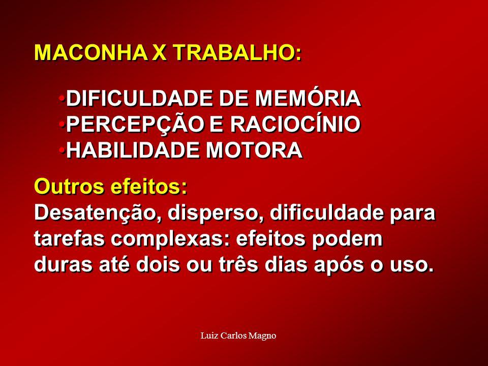 DIFICULDADE DE MEMÓRIA PERCEPÇÃO E RACIOCÍNIO HABILIDADE MOTORA