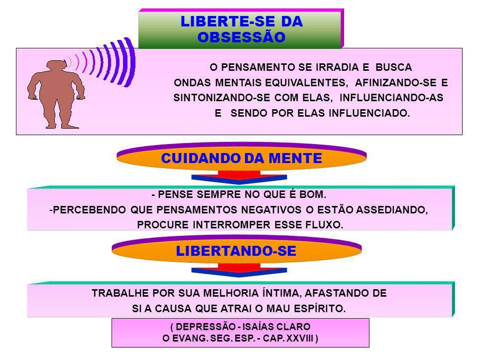 LIBERTE-SE DA OBSESSÃO