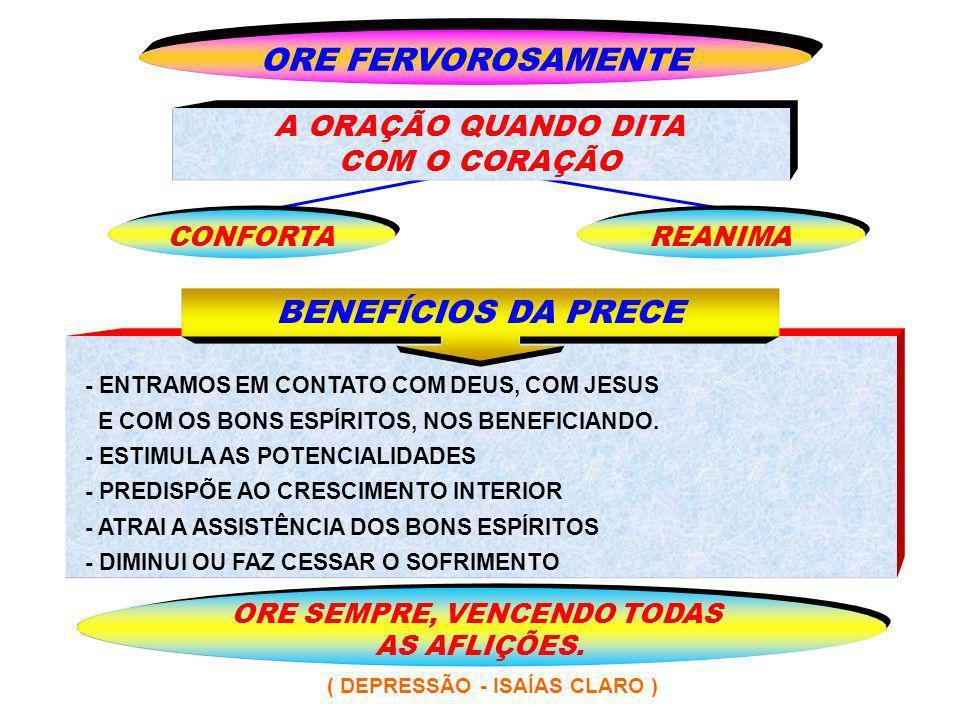 ORE SEMPRE, VENCENDO TODAS ( DEPRESSÃO - ISAÍAS CLARO )