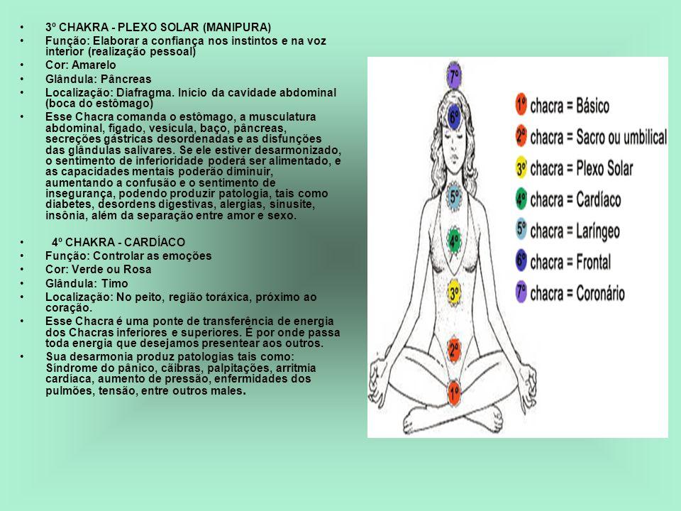 3º CHAKRA - PLEXO SOLAR (MANIPURA)
