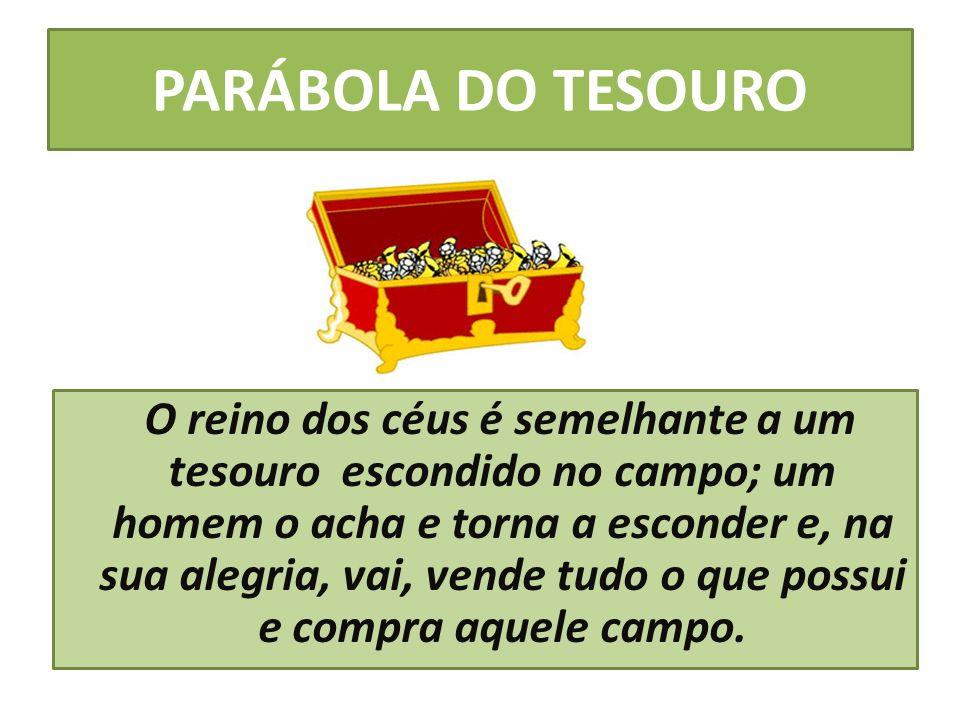PARÁBOLA DO TESOURO