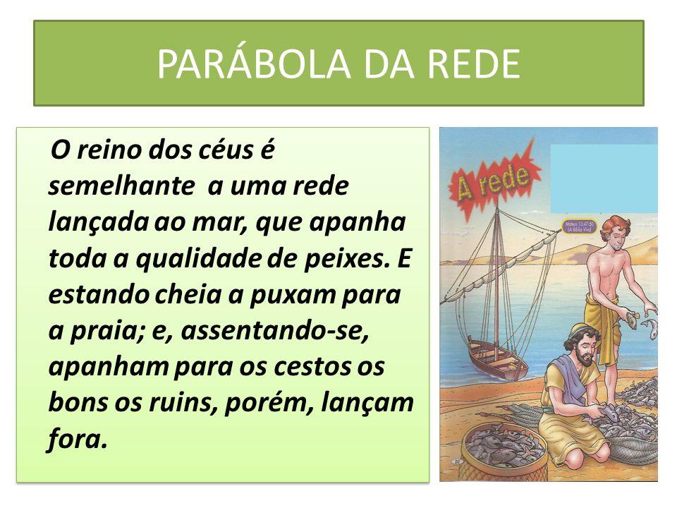 PARÁBOLA DA REDE