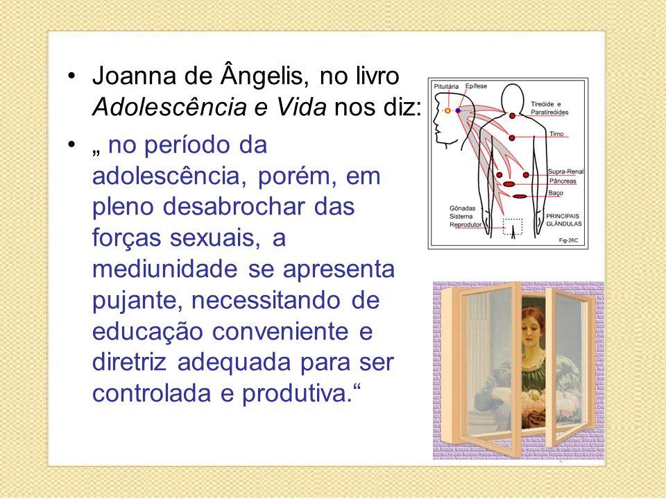 Joanna de Ângelis, no livro Adolescência e Vida nos diz: