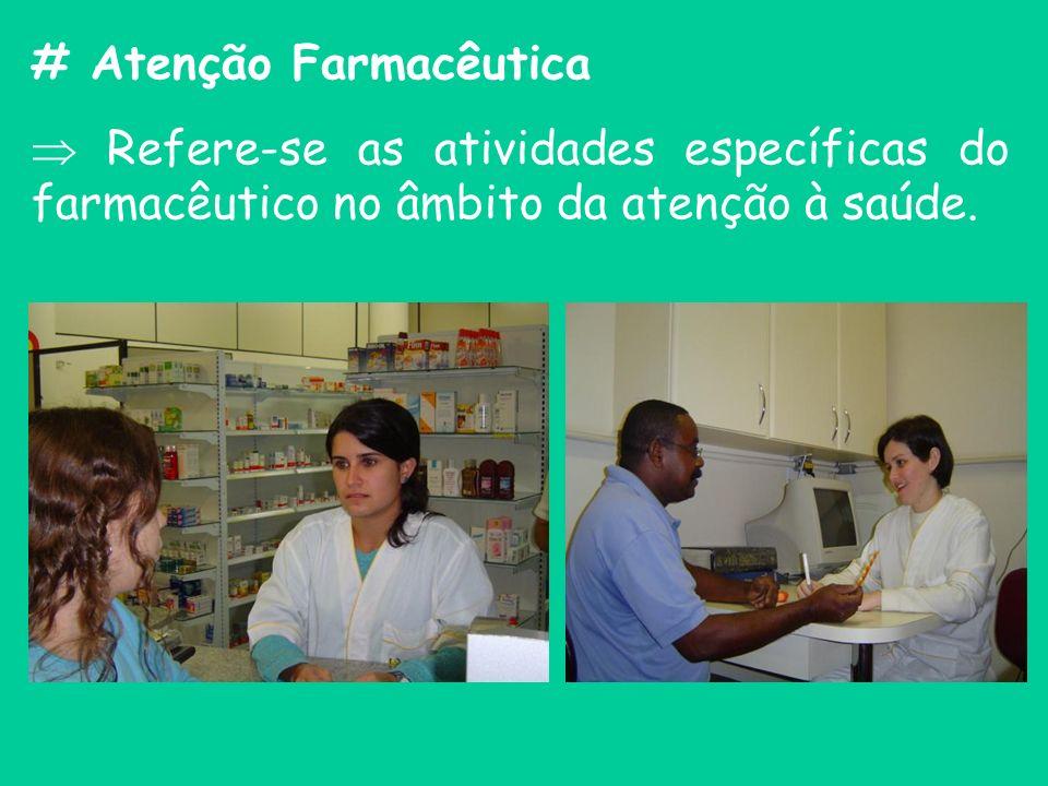 # Atenção Farmacêutica