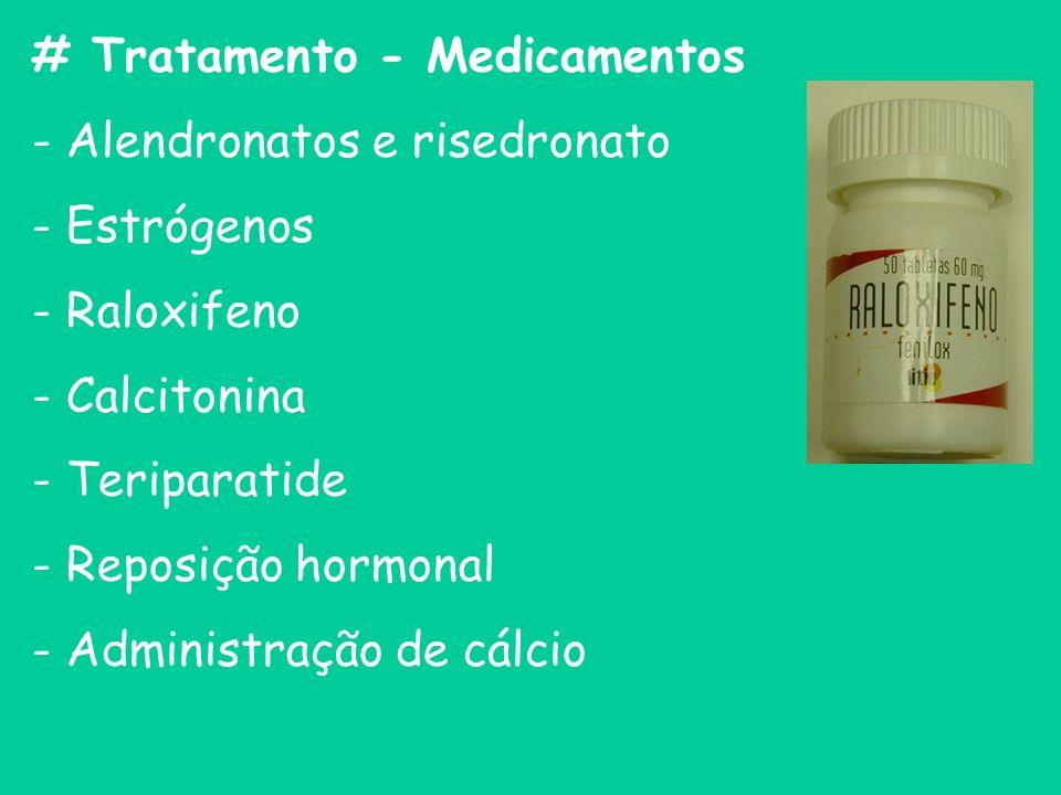 # Tratamento - Medicamentos