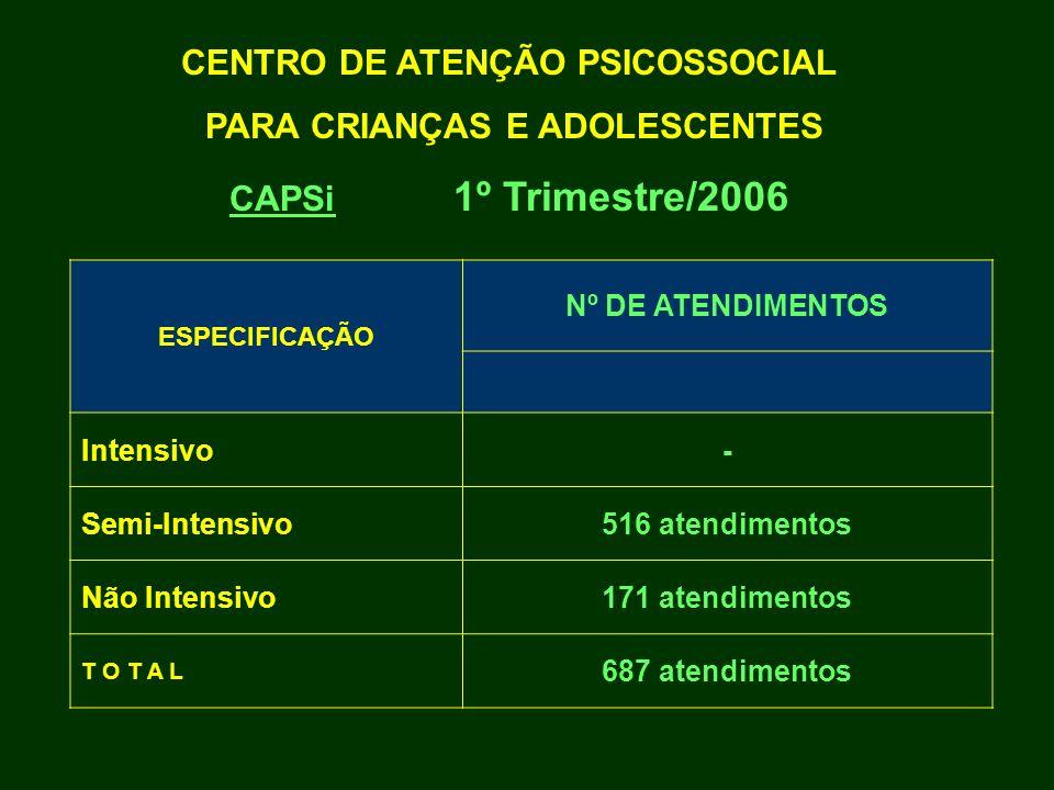 CENTRO DE ATENÇÃO PSICOSSOCIAL PARA CRIANÇAS E ADOLESCENTES