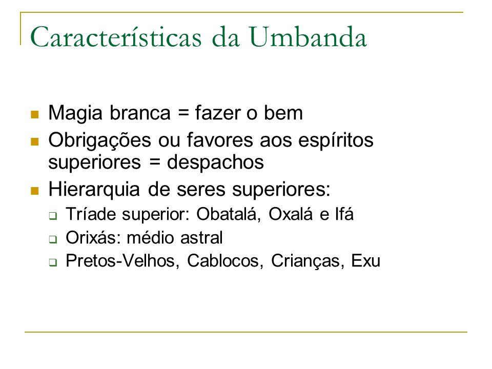 Características da Umbanda