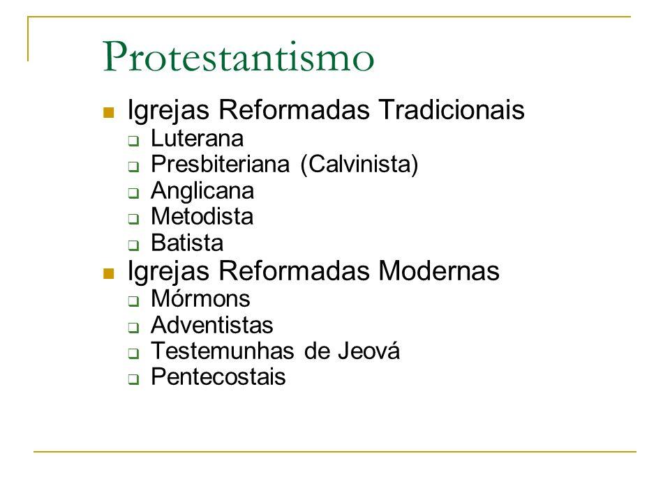Protestantismo Igrejas Reformadas Tradicionais