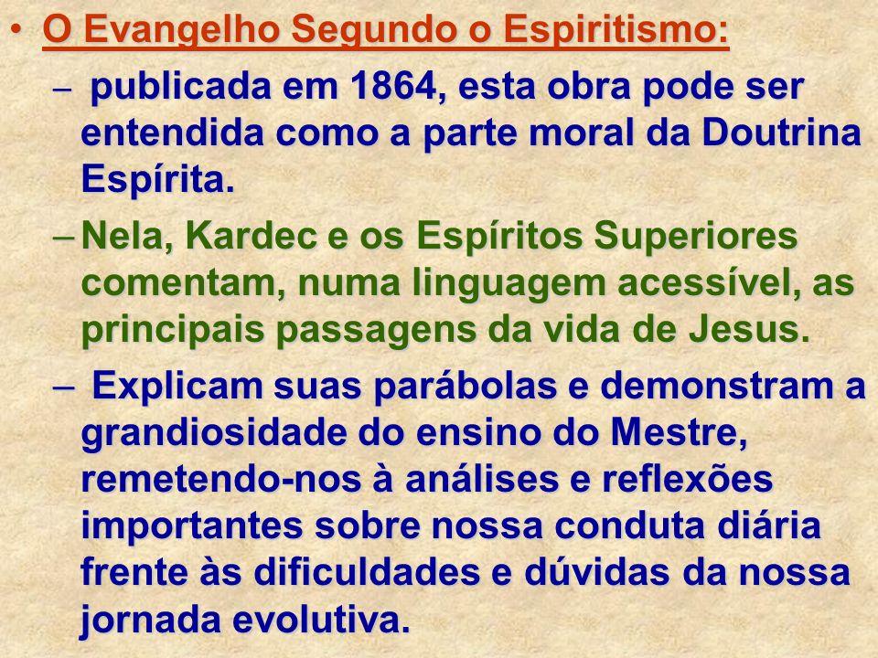 O Evangelho Segundo o Espiritismo: