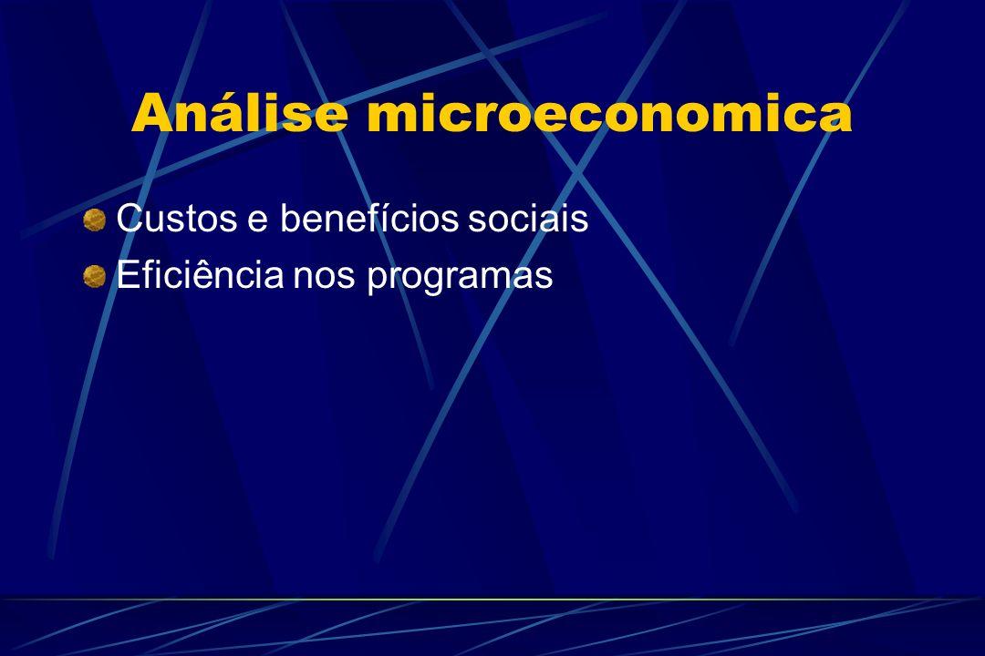 Análise microeconomica