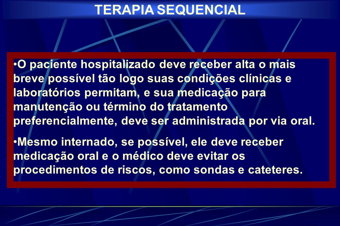 TERAPIA SEQUENCIAL