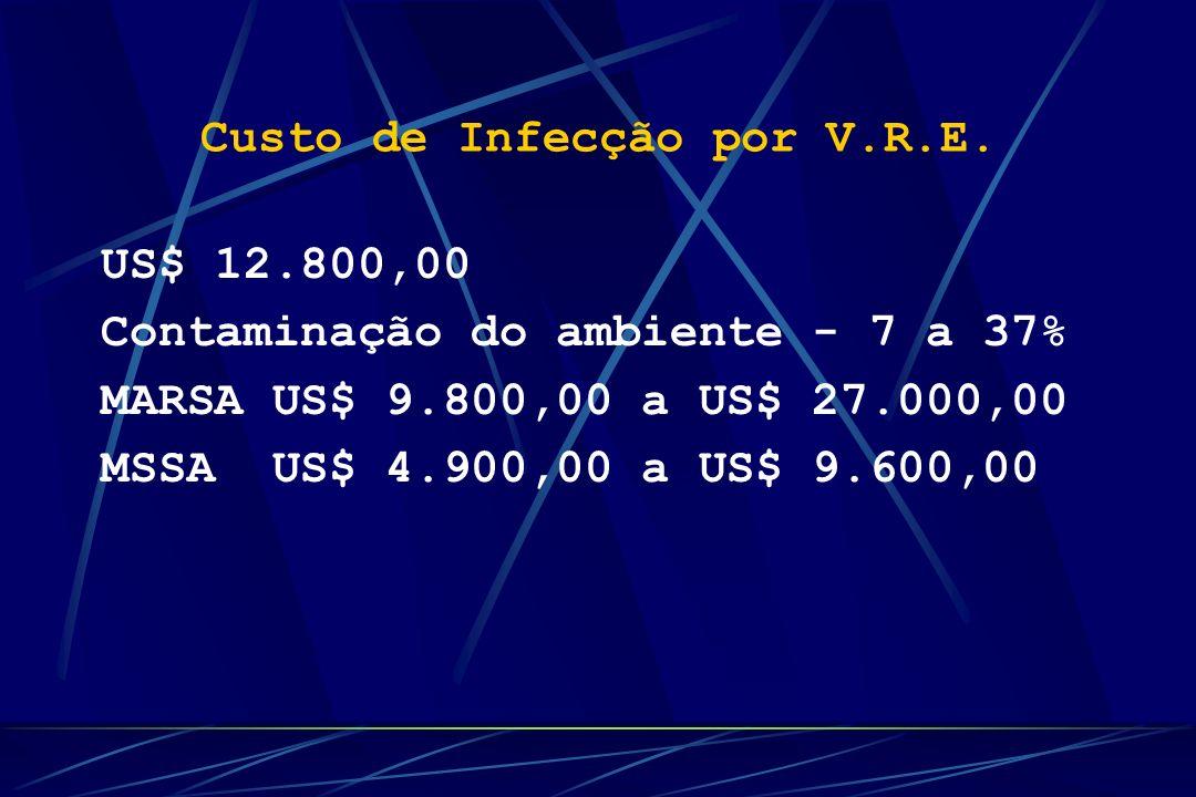 Custo de Infecção por V.R.E.