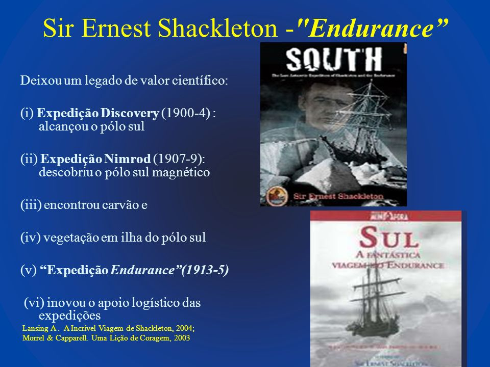 Sir Ernest Shackleton - Endurance