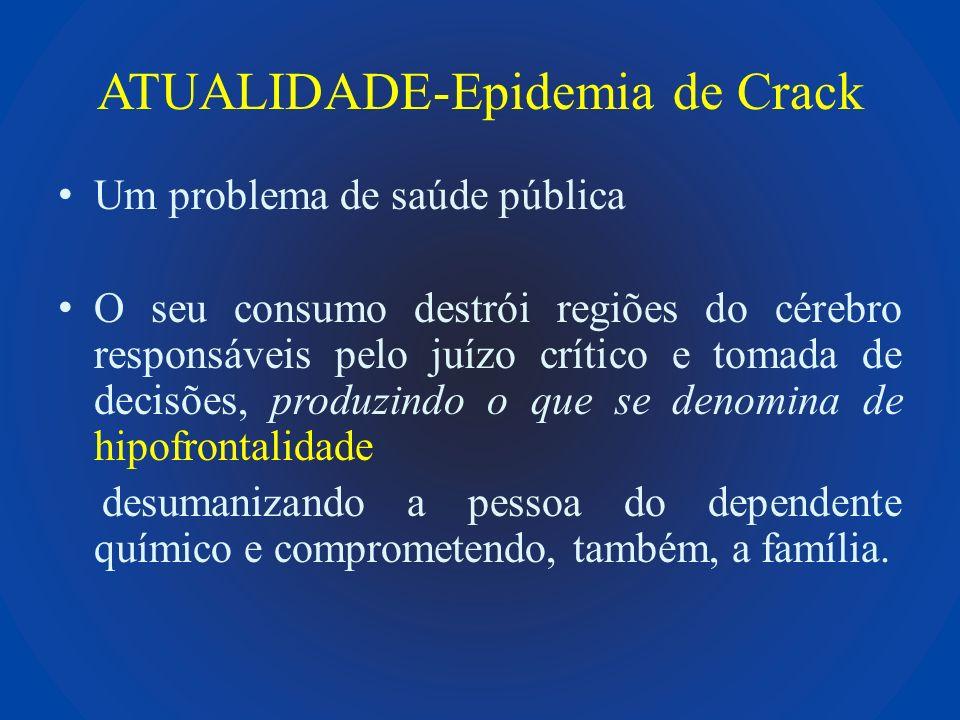 ATUALIDADE-Epidemia de Crack