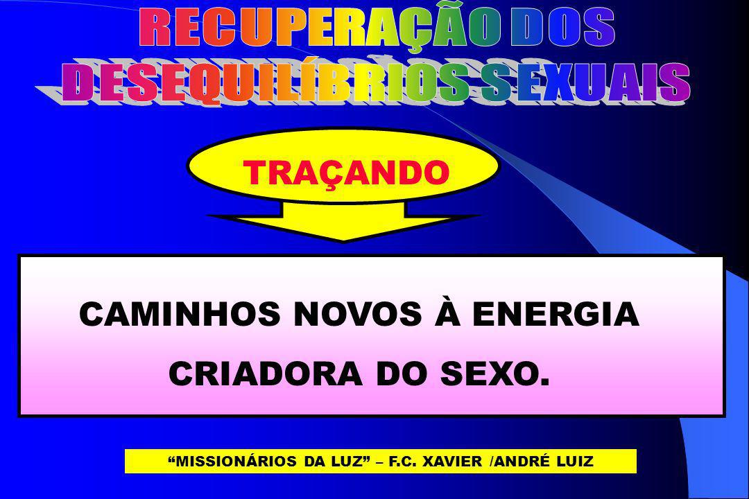 DESEQUILÍBRIOS SEXUAIS