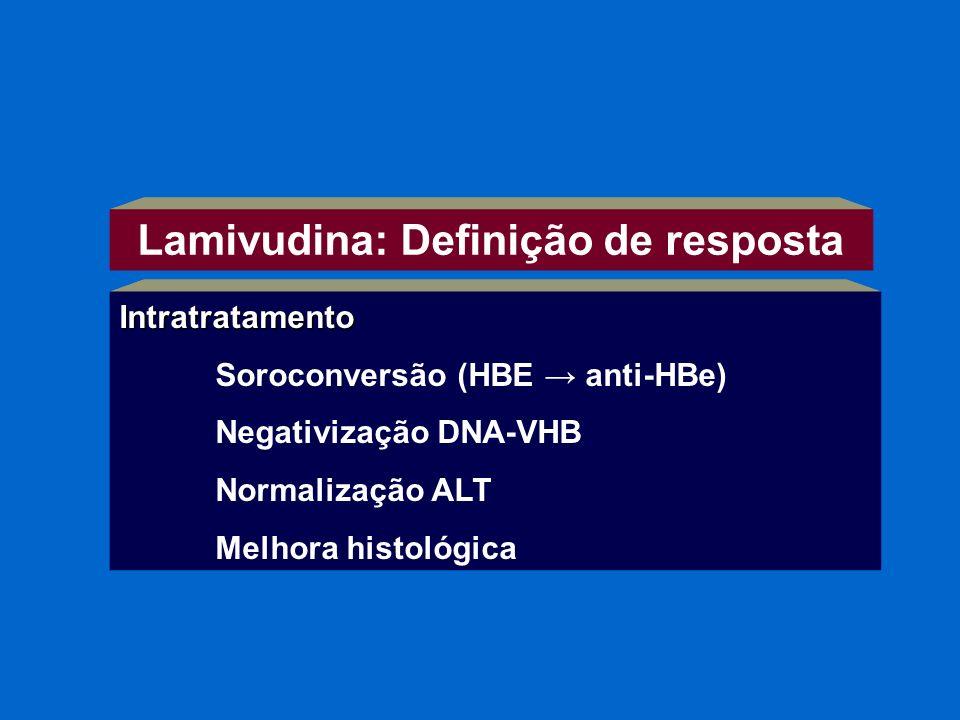 Lamivudina: Definição de resposta