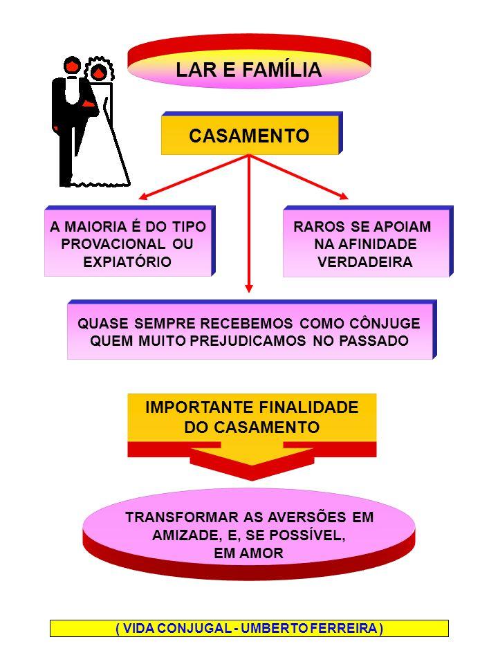LAR E FAMÍLIA CASAMENTO IMPORTANTE FINALIDADE DO CASAMENTO