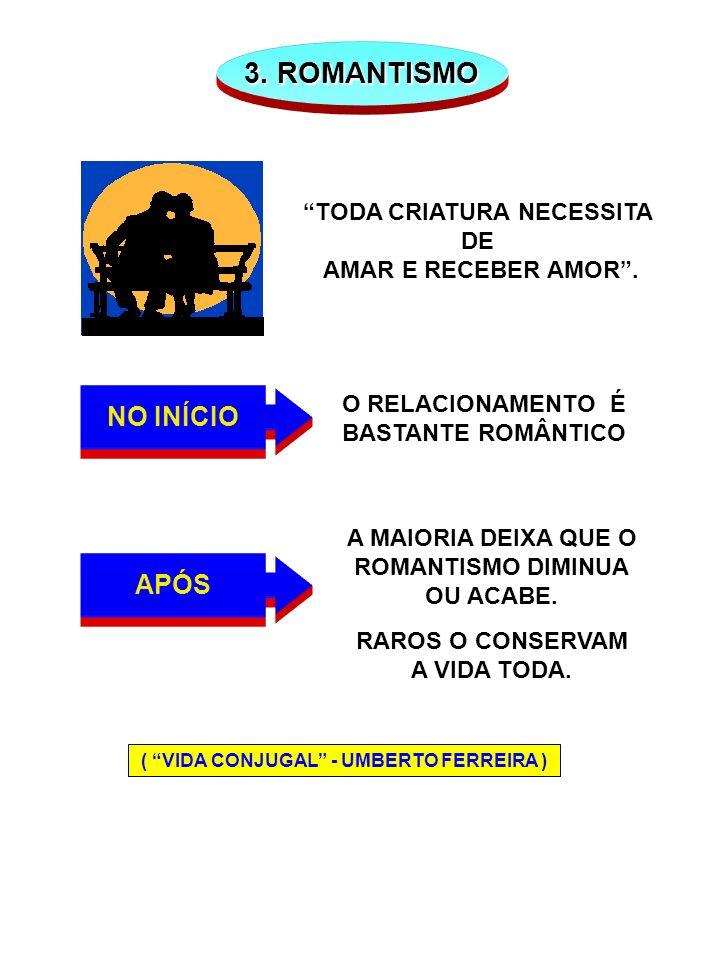 TODA CRIATURA NECESSITA ( VIDA CONJUGAL - UMBERTO FERREIRA )