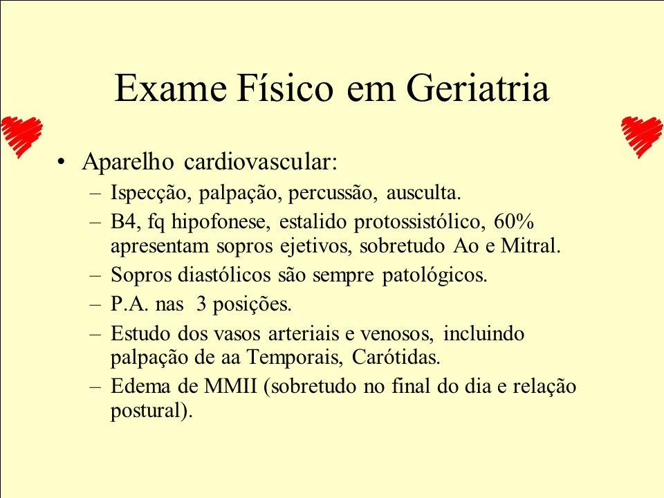 Exame Físico em Geriatria