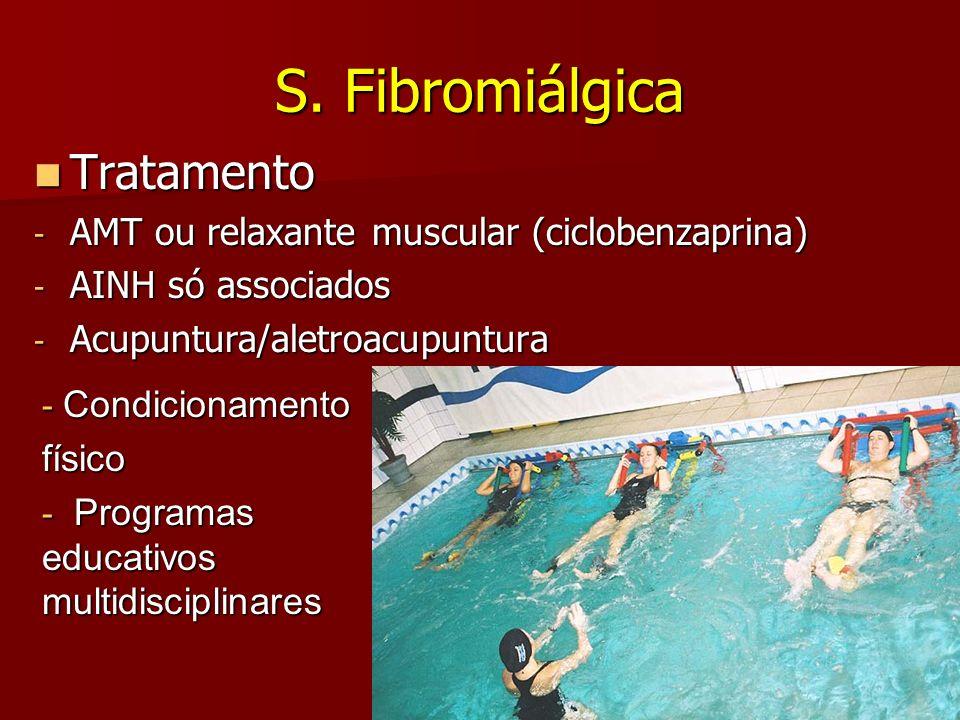 S. Fibromiálgica Tratamento