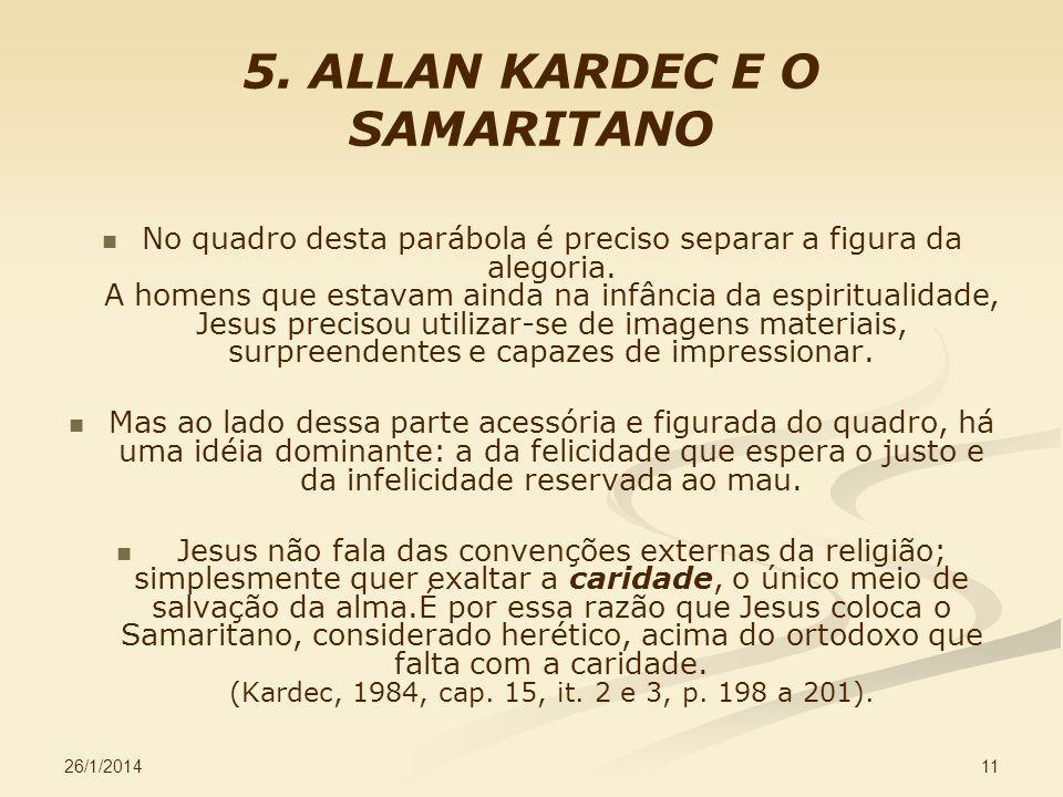 5. ALLAN KARDEC E O SAMARITANO