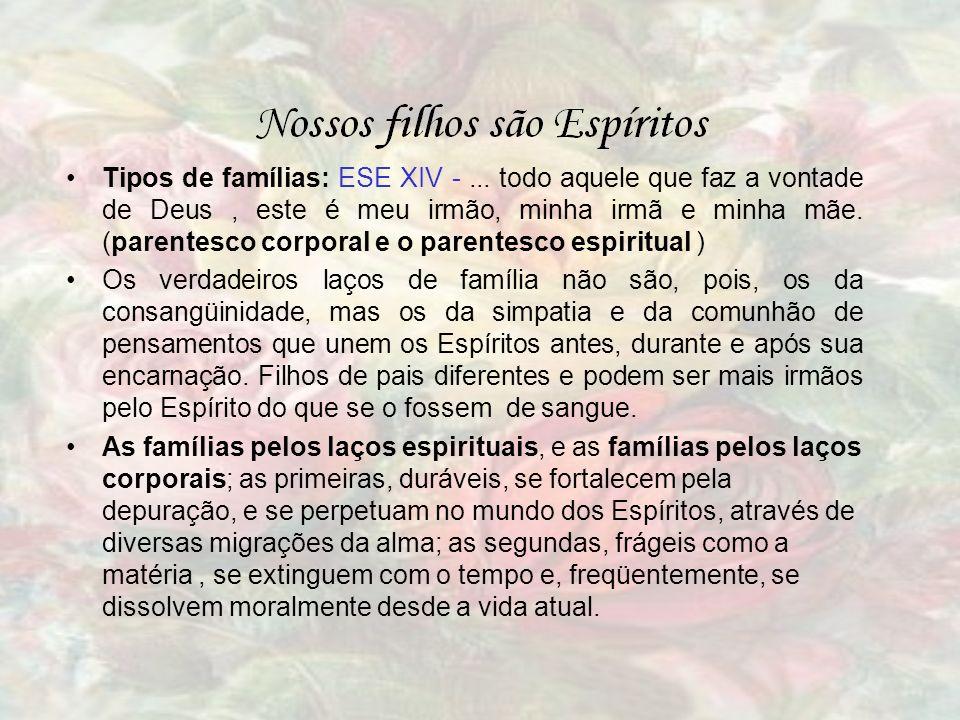 Tipos de famílias: ESE XIV -