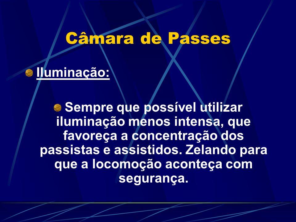 Câmara de Passes Iluminação: