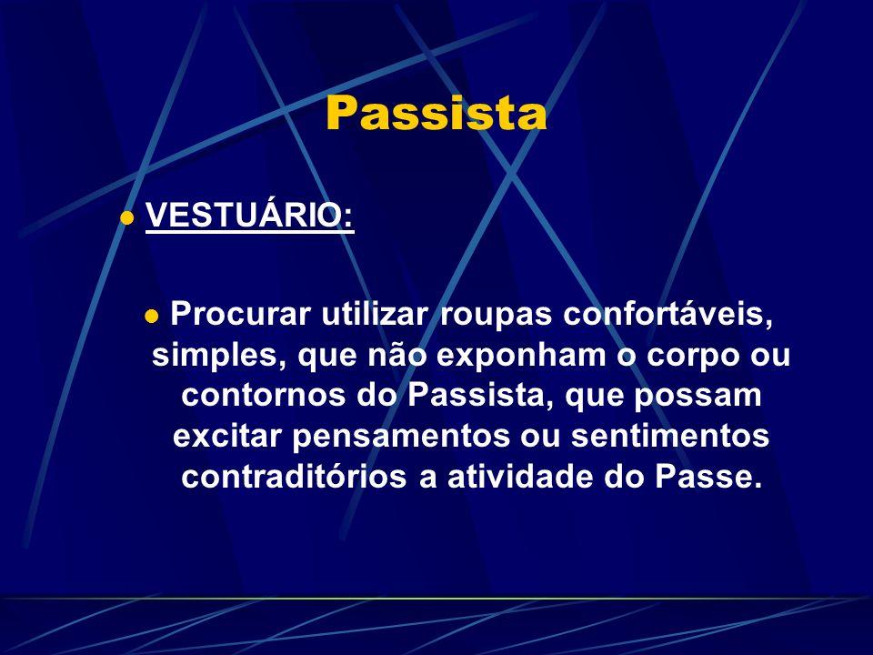 Passista VESTUÁRIO:
