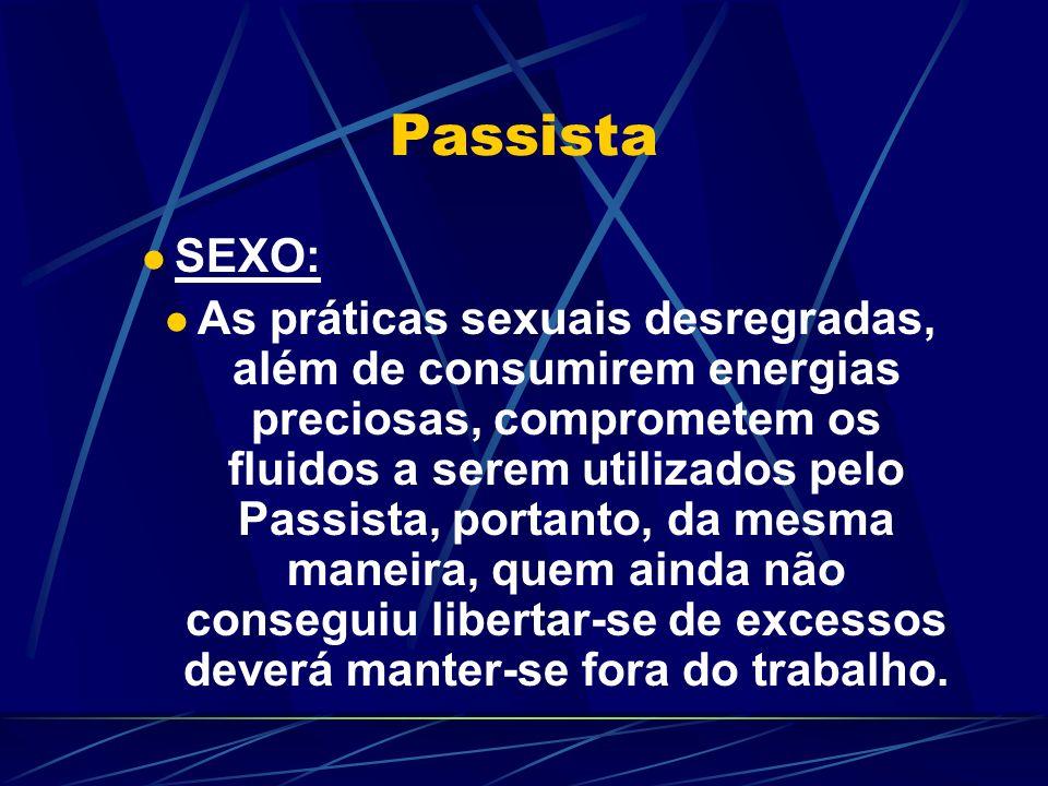 Passista SEXO:
