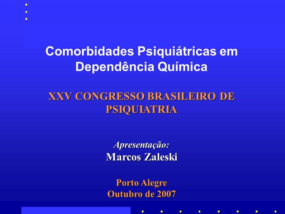 XXV CONGRESSO BRASILEIRO DE PSIQUIATRIA