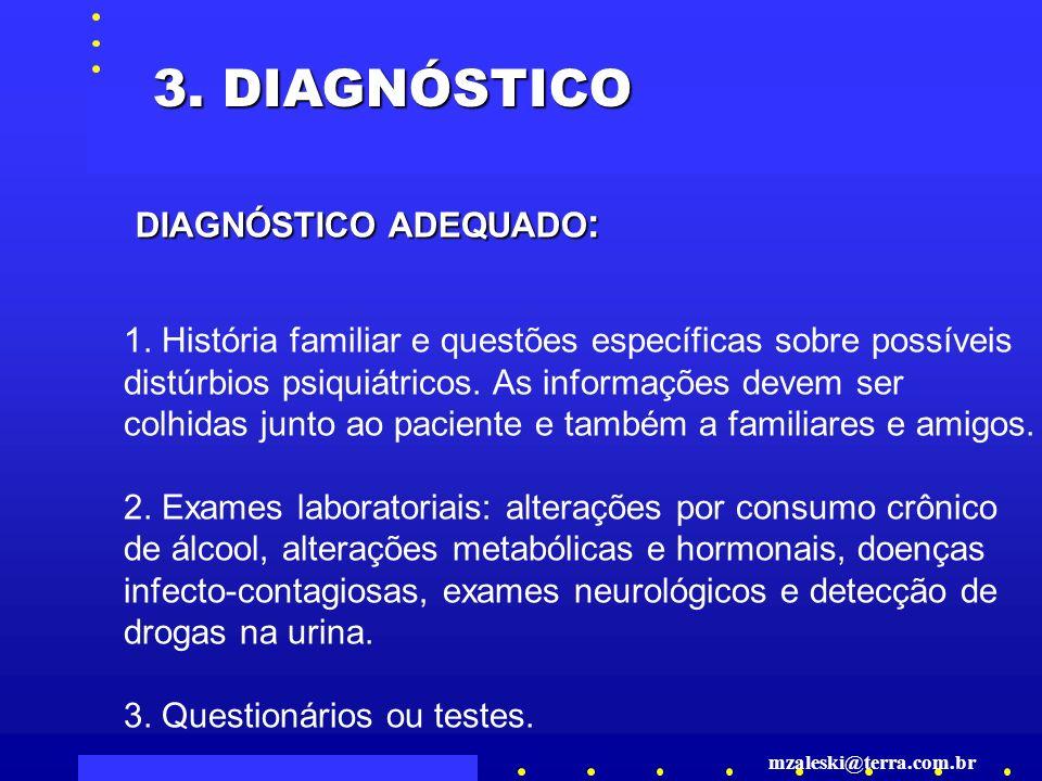 3. DIAGNÓSTICO DIAGNÓSTICO ADEQUADO: