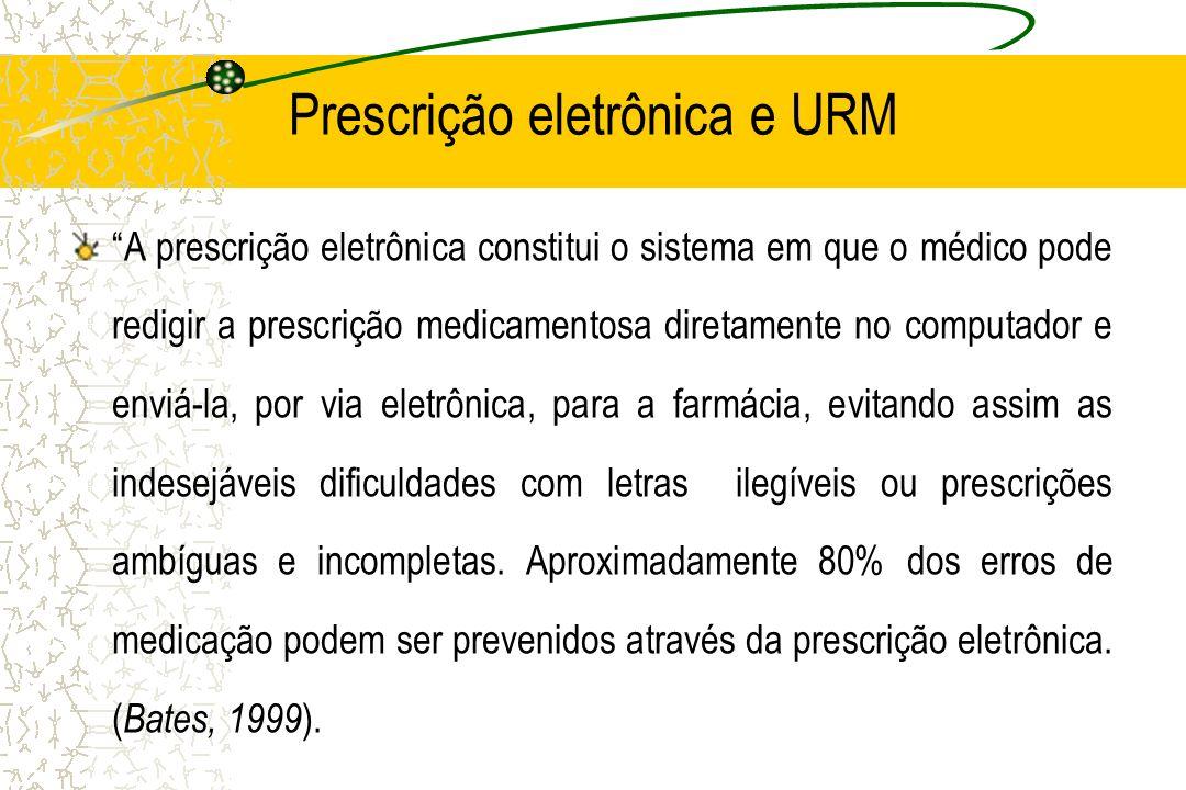 Prescrição eletrônica e URM