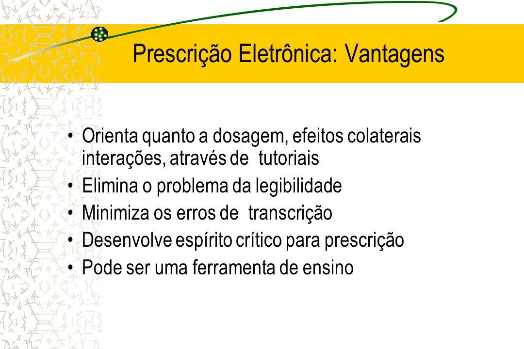 Prescrição Eletrônica: Vantagens
