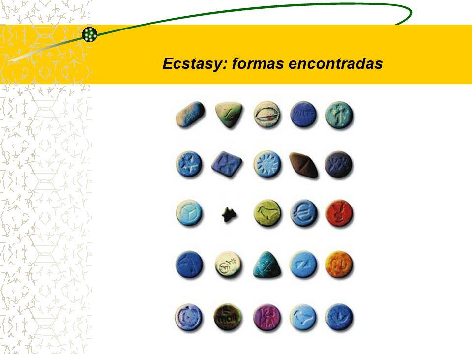 Ecstasy: formas encontradas