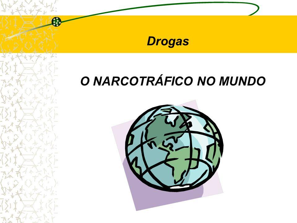 Drogas O NARCOTRÁFICO NO MUNDO
