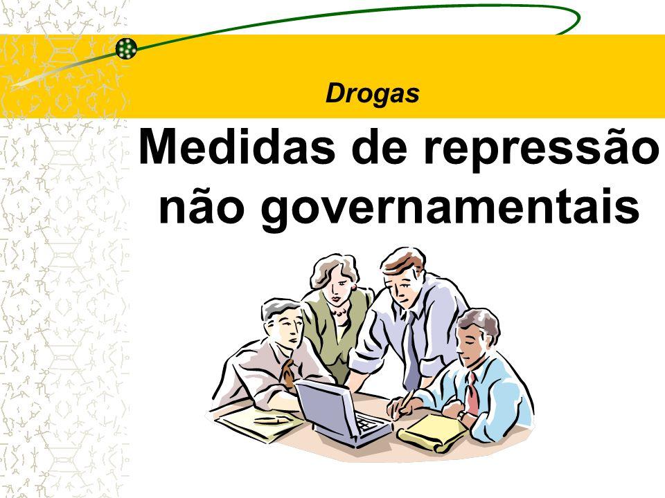 Medidas de repressão não governamentais