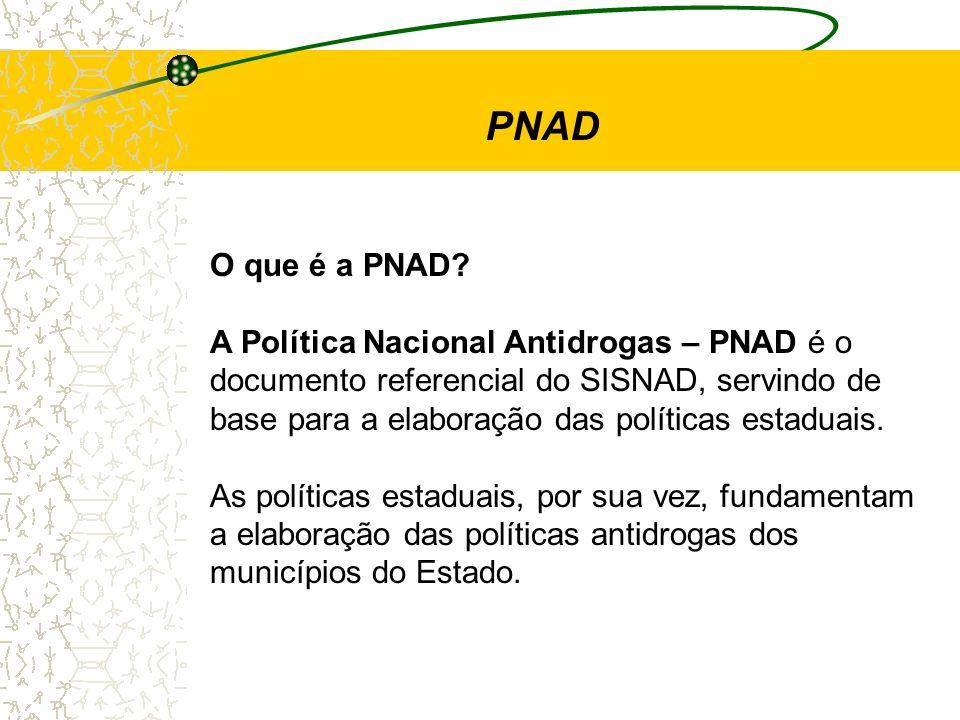 PNAD O que é a PNAD A Política Nacional Antidrogas – PNAD é o