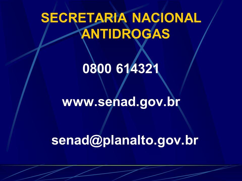 SECRETARIA NACIONAL ANTIDROGAS