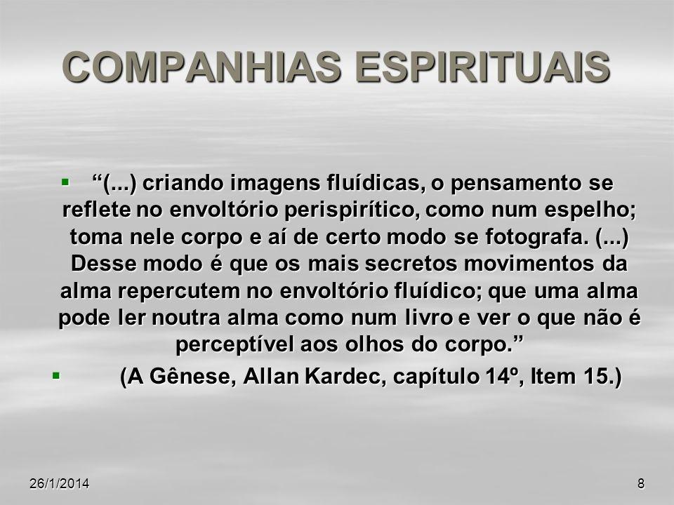 COMPANHIAS ESPIRITUAIS