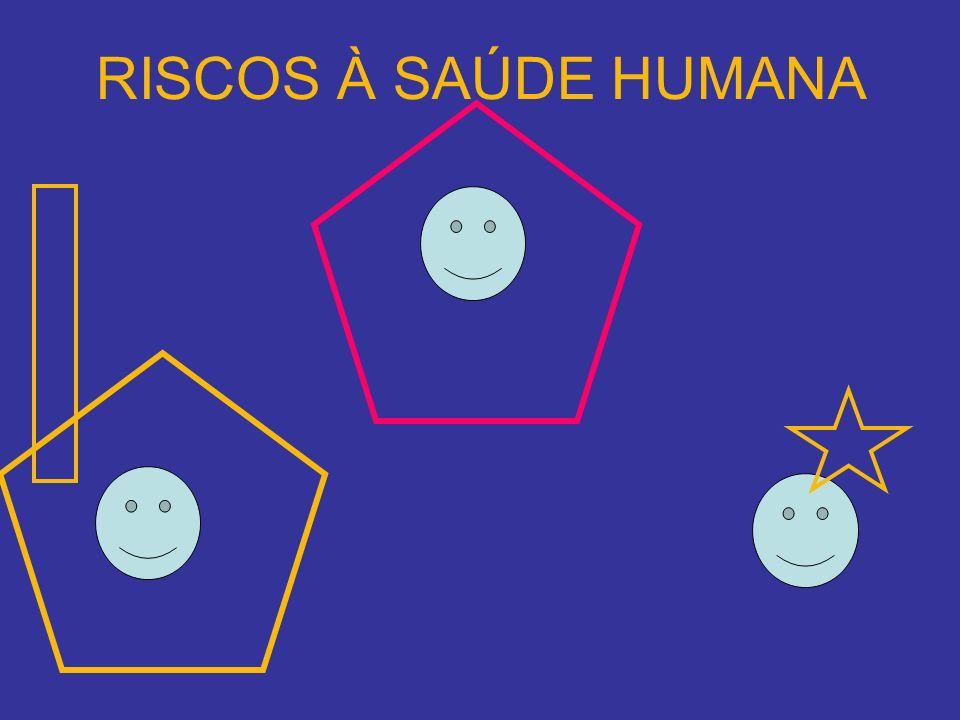 RISCOS À SAÚDE HUMANA