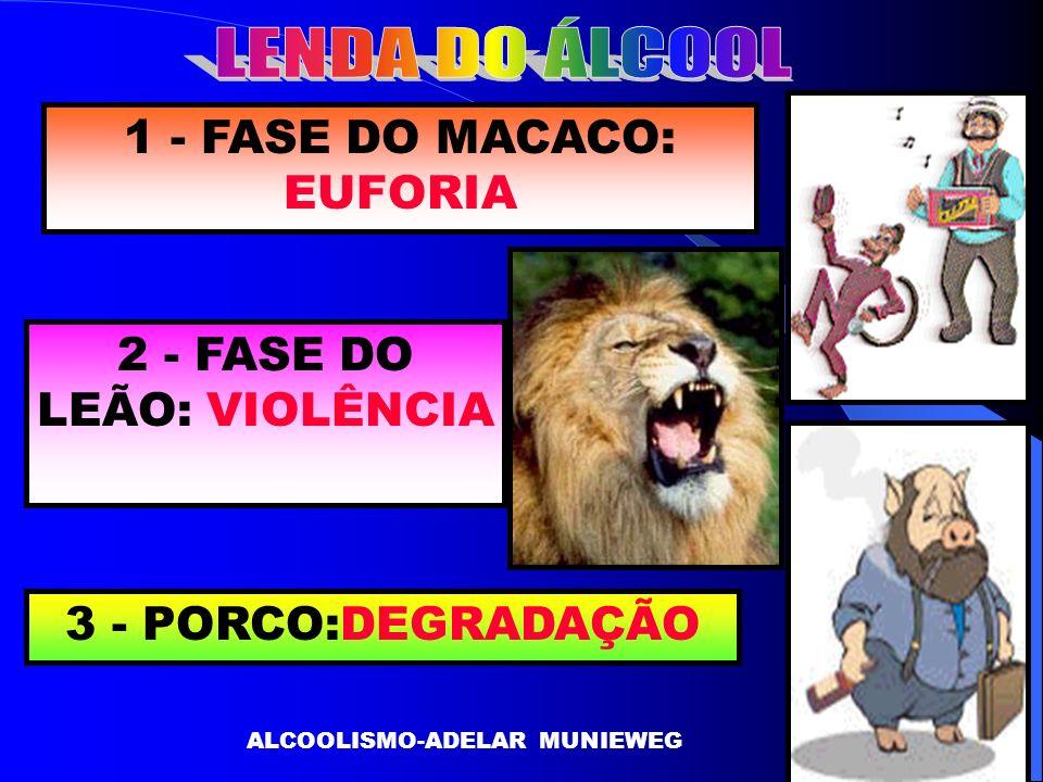 LENDA DO ÁLCOOL 1 - FASE DO MACACO: EUFORIA