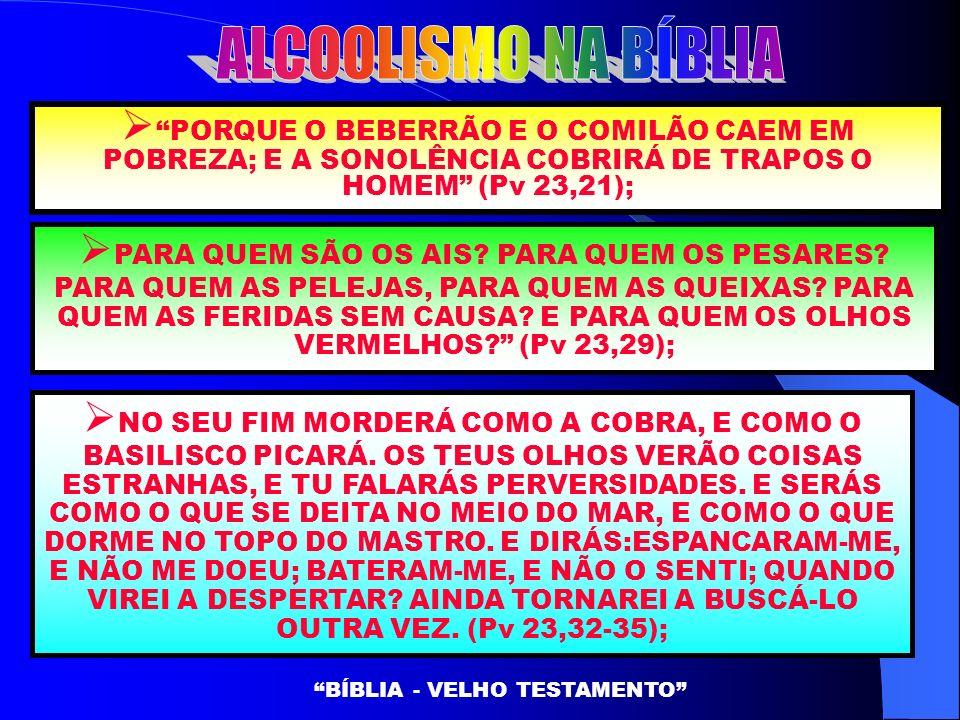 BÍBLIA - VELHO TESTAMENTO