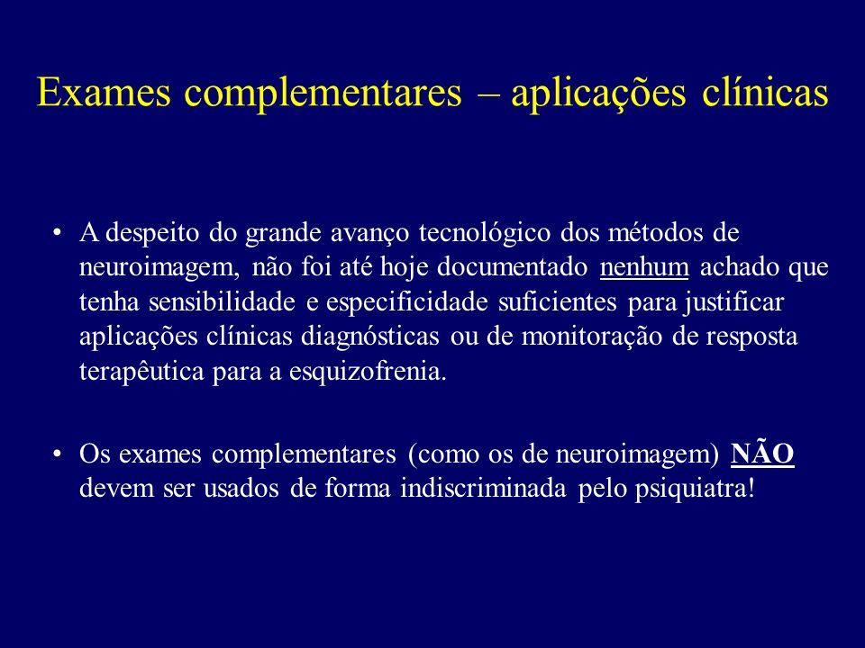Exames complementares – aplicações clínicas