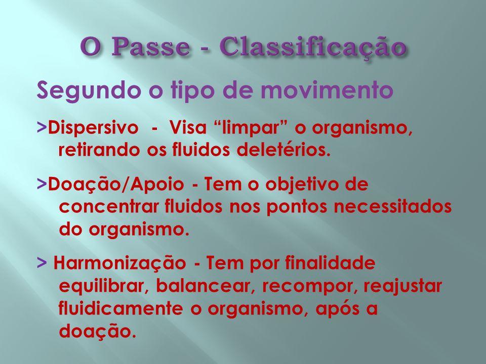 O Passe - Classificação