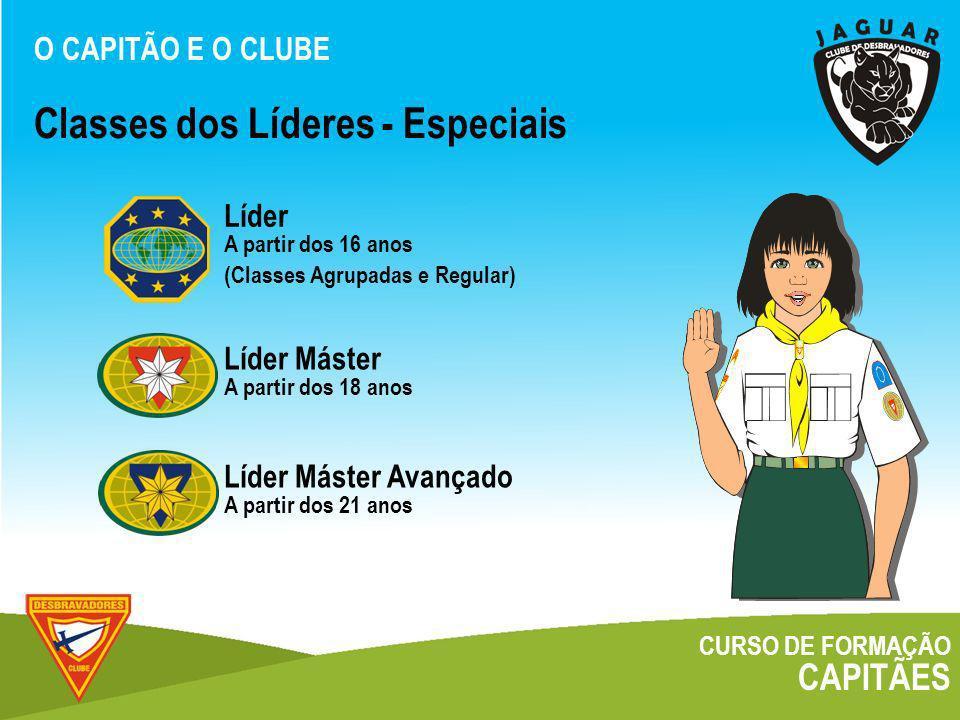 Classes dos Líderes - Especiais