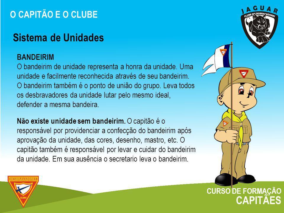 Sistema de Unidades CAPITÃES O CAPITÃO E O CLUBE BANDEIRIM